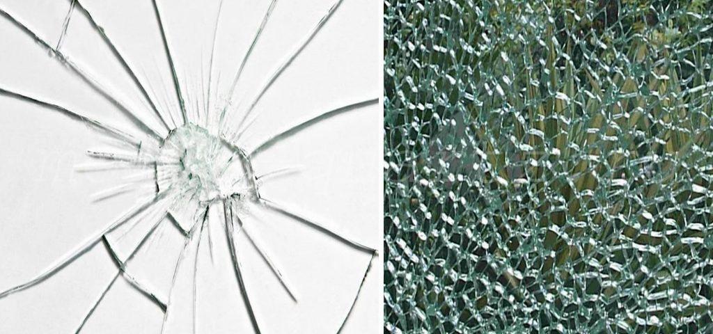 различие между закаленным и обычным стеклом фото