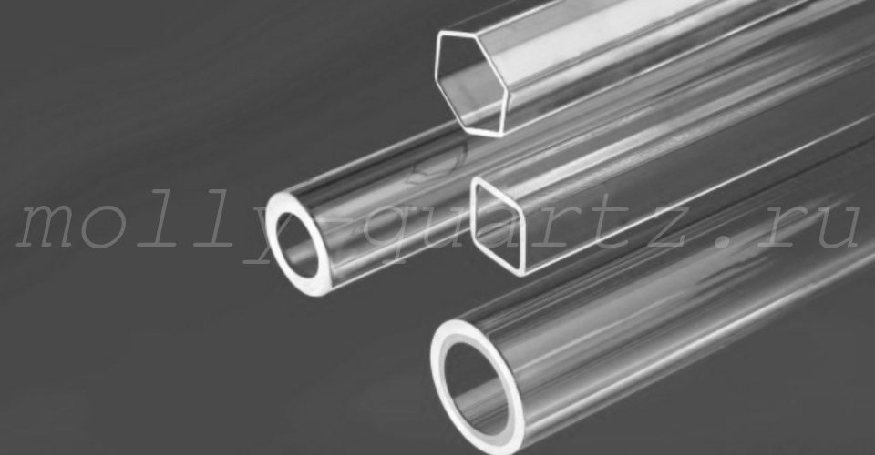 трубки из кварца открытого типа фото