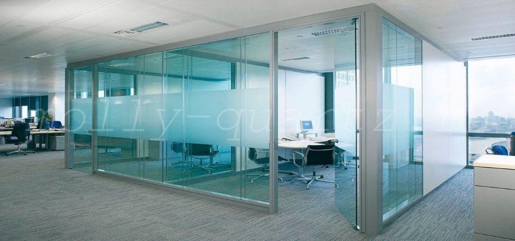 стекло для перегородок в офис фото