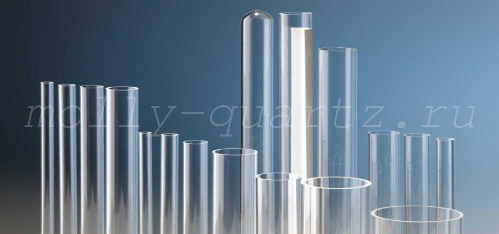 кварцевые трубки некоторых типов фото