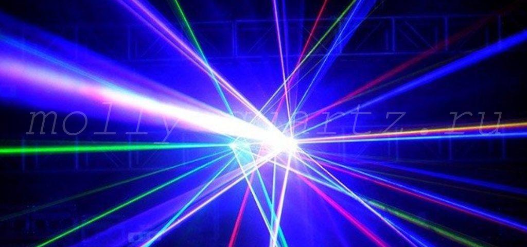 кварцевая трубка как основа для рабочей среды лазера