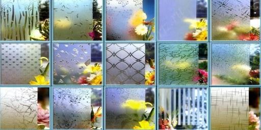 варианты узоров для стекла