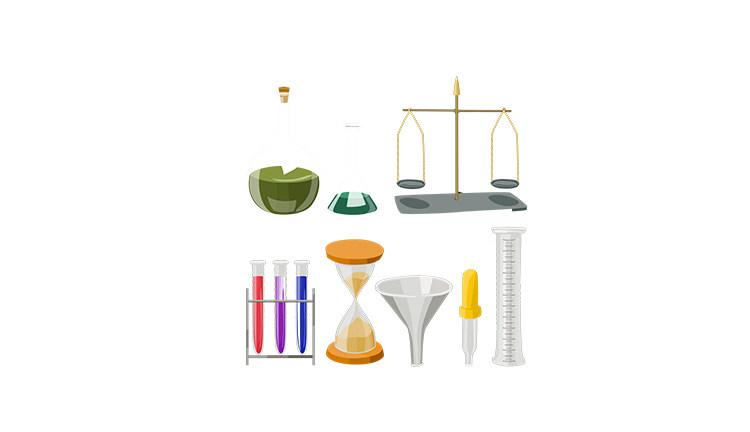 Посуда и приборы для лабораторий